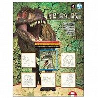Razítka Dino, blistr 5 ks