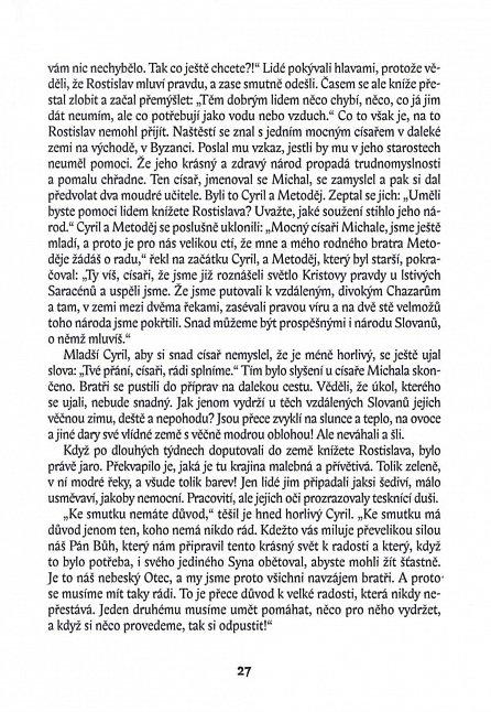 Náhled Kytice z královské zahrady - Příběhy svatých ochránců Čech a Moravy pro děti