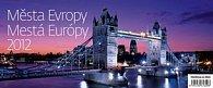 Kalendář stolní 2012 - Města Evrop (MINI)