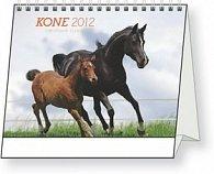 Kone Christiane Slawik - stolní kalendář 2012