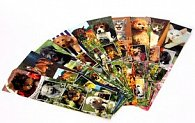Záložka do knihy papírová - foto zvířátek