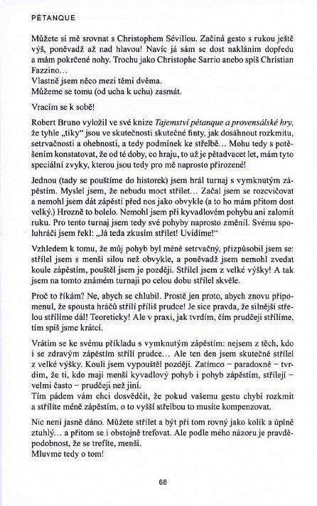 Náhled Pétanque - Příprava vítěze