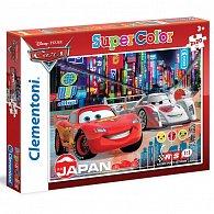 Puzzle Supercolor Auta 2x20 dílků