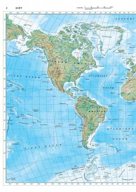Náhled Podrobný a praktický atlas světa s aktuálními mapami