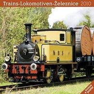 Železnice 2010 - nástěnný kalendář