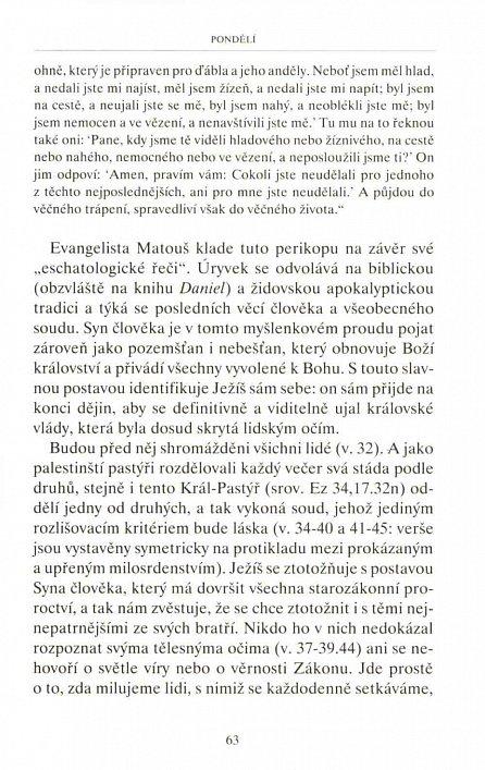 Náhled Lectio divina 3 - Doba postní a velikonoční triduum
