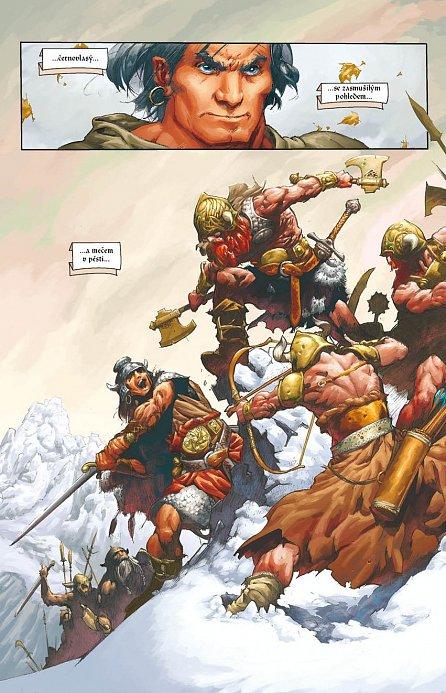 Náhled Conan - Dcera pána mrazu a další povídky - váz.