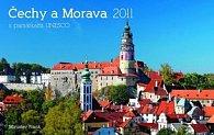 Kalendář 2011 - Čechy a Morava - Miroslav Frank (23,1x14,5) stolní