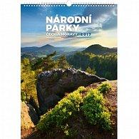 Kalendář nástěnný 2017 - Národní parky Čech a Moravy