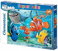 Puzzle Supercolor 104 dílků Nemo