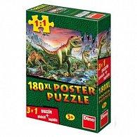 Puzzle 180XL Dinosauři