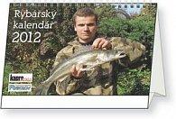 Kalendář stolní  2012 - Rybářský, 23,1 x 14,5 cm