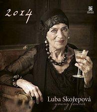 Kalendář 2014 - Luba Skořepová - nástěnný