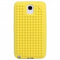 Samsung Note3 Pixel Case žlutá