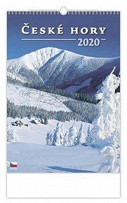 Kalendář nástěnný 2020 - České hory