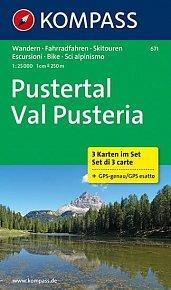 Pustertal  671 (sada 3 map )  NKOM  1:25