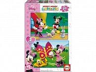 Puzzle Minnie 2v1 20 dílků
