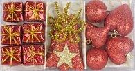 Mix vánočních ozdob 14 ks