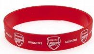 Náramek silikonový - FC Arsenal/červený/znak