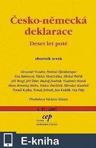 Česko-německá deklarace: Deset let poté (E-KNIHA)