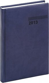Diář 2013 - Tucson-Vivella - Denní A5, tmavě modrá, 15 x 21 cm