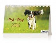 Kalendář stolní 2016 - Psi