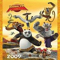 Kung Fu Panda 2009 - nástěnný kalendář