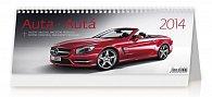 Kalendář 2014 - Auta - stolní 321x134