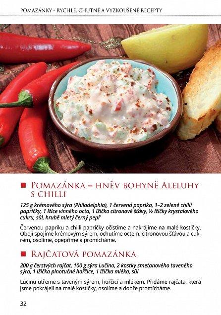 Náhled Pomazánky - rychlé, dobré a vyzkoušené recepty