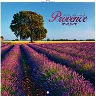 Kalendář nástěnný 2016 - Provence - Jakub Kasl - voňavý, poznámkový  30 x 30 cm