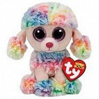 Beanie Boos Rainbow barvený pudl 15 cm