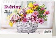 Kalendář stolní 2015 - Květiny