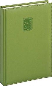 Diář 2013 - Grande - Denní A5, zelená, 15 x 21 cm