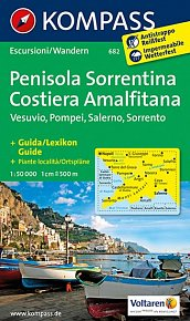 Penisola Sorrentina,Vesuvio 682 / 1:50T NKOM