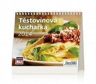 Kalendář 2014 - MiniMax Těstovinová kuchařka - stolní