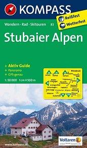 Stubaier Alpen 83 / 1:50T NKOM