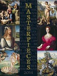 Masterpieces - nástěnný kalendář 2014