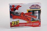Spiderman pavučinomet na vodu a pavučinu s rukavicí