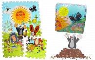 Krtek - Pěnové puzzle 30x30 6ks
