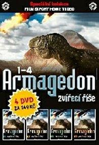 DVD set - Armagedon zvířecí říšel 1 - 4.