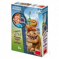Puzzle Dětský metr Hodný dinosaurus panoramic