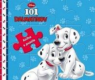 101 dalmatínov kniha s puzzle