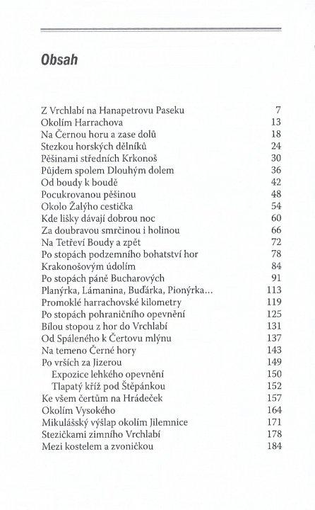 Náhled Toulky Krkonošemi