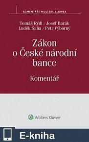 Zákon o České národní bance (č. 6/1993 Sb.) - Komentář (E-KNIHA)