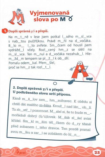 Náhled Domácí procvičování - Čeština 3. ročník