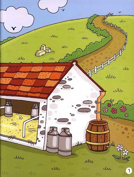 Náhled Farma - Samolepková knížka