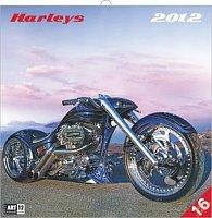 Kalendář nástěnný 2012 - Harleys, 30 x 60 cm