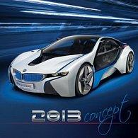 Concept Cars - nástěnný kalendář 2013