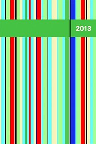 Diář 2013 - magnet. Colors 10,5 x 15,8 cm - CZ