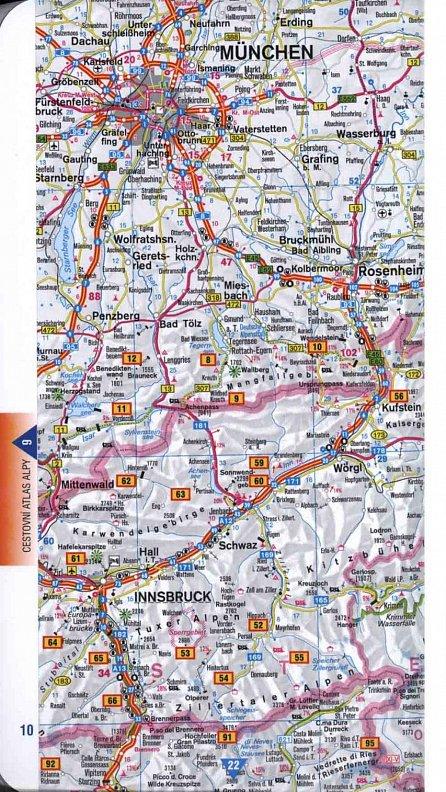 Náhled Alpy - velký tur. průvodce  NKOM